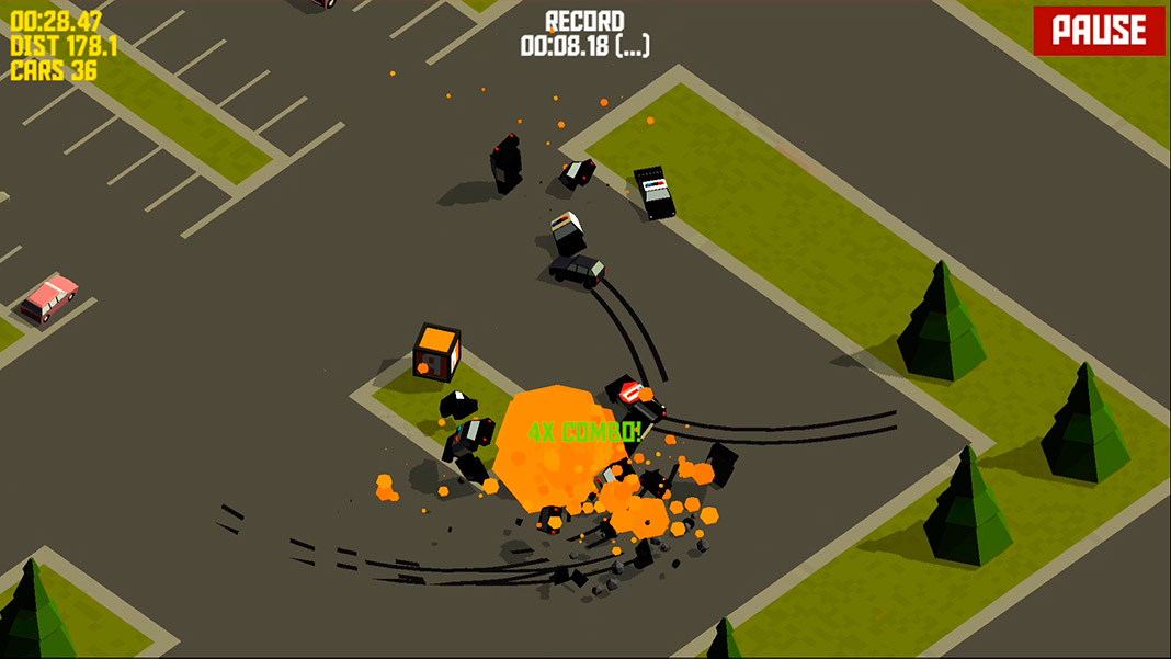 pako forever screenshot The PAKO saga has added a thrilling new car chase game to its collection