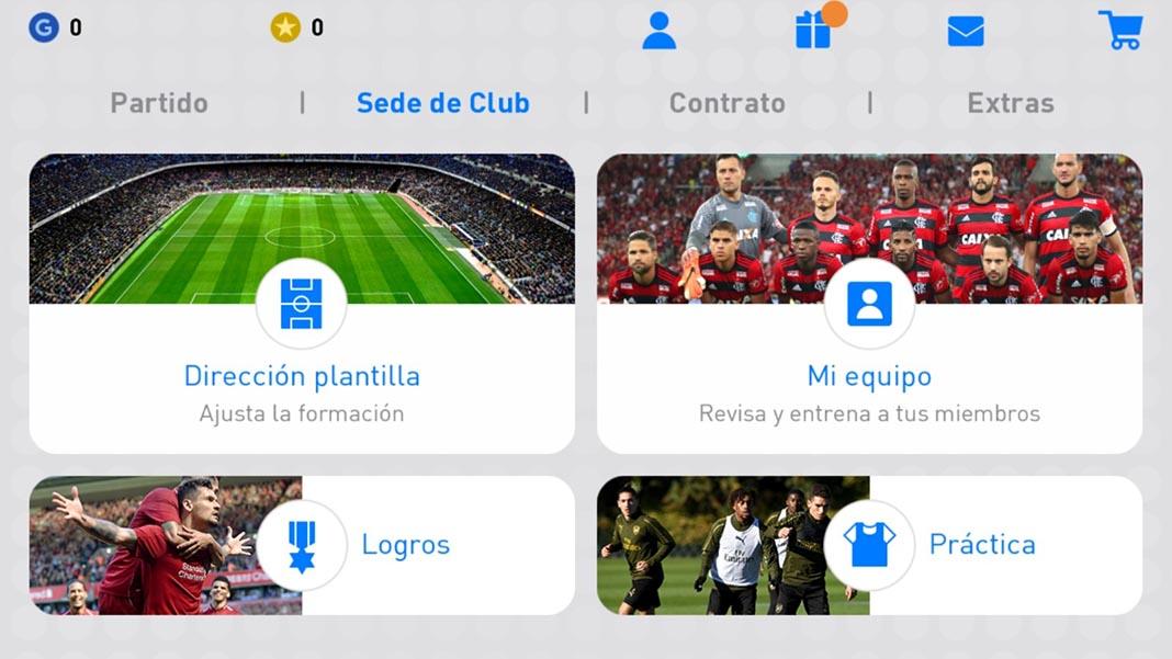 pes 2019 screenshot 2 Ya disponible el nuevo PES 2019 para Android