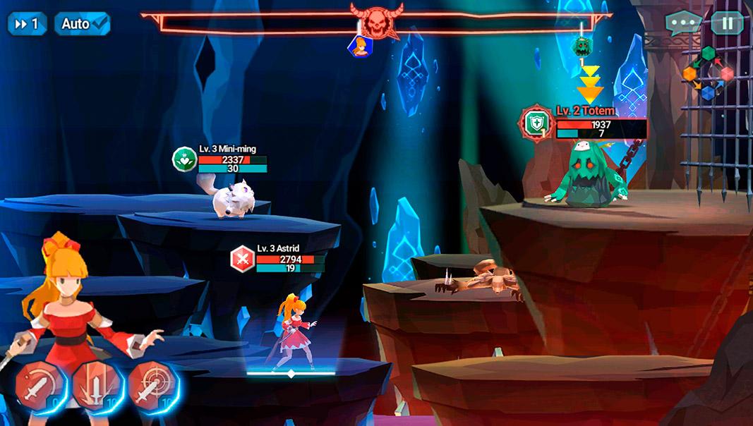 phantomgate screenshot 50 juegos gratuitos para Android con protagonista femenina