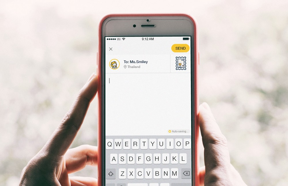 photos Slowly lets you send virtual letters all over the world