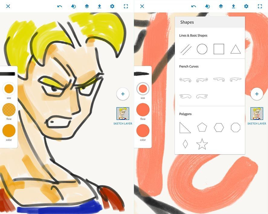 ADOBE PHOTOSHOP SKETCH