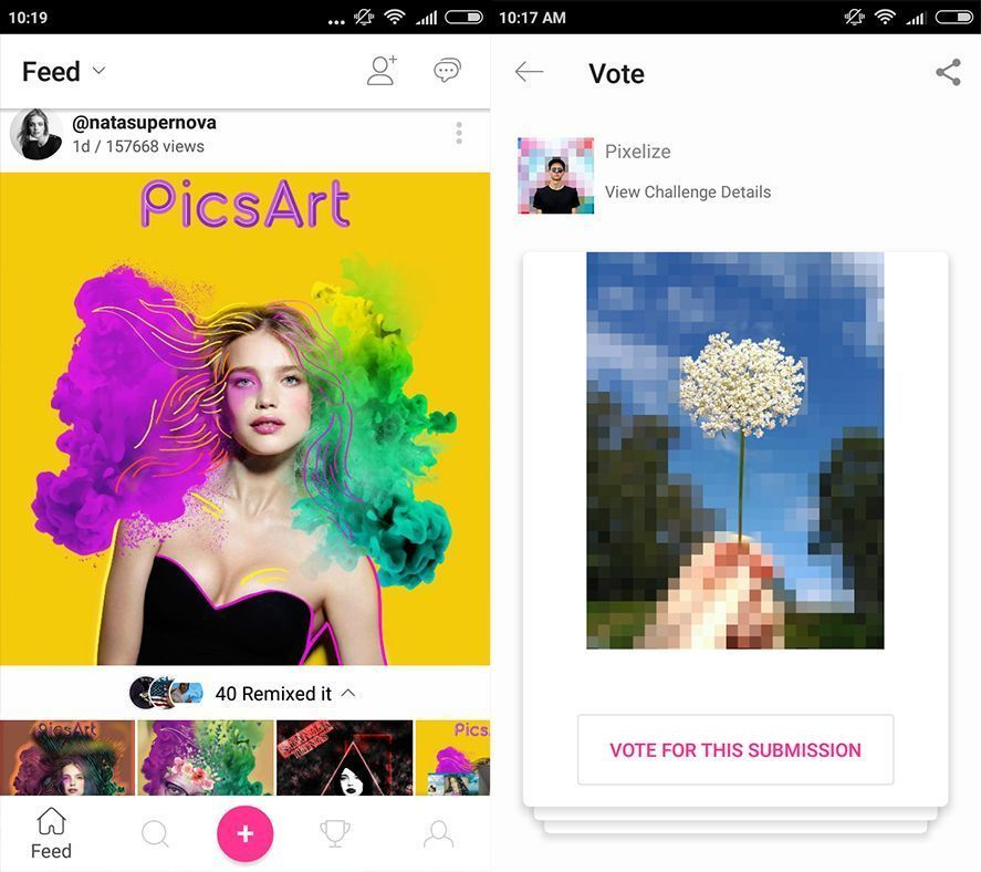 picsart pour android uptodown