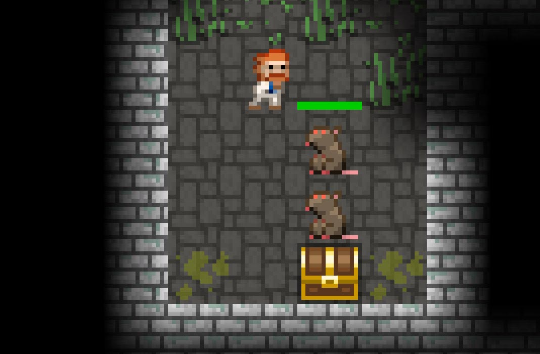 Pixel Dungeon art