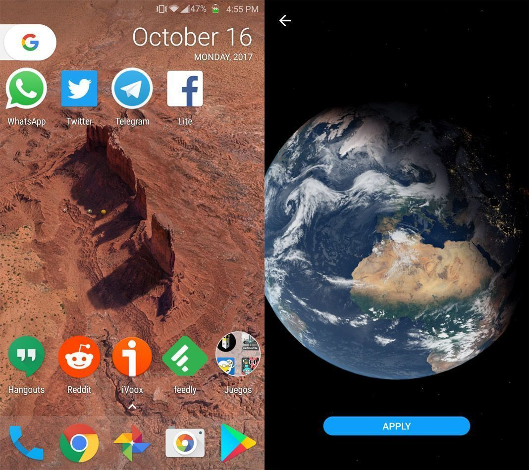 pixel wallpapers Add Google Pixel 2's dynamic back screens to any smartphone