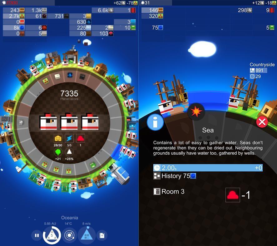 planet of mine screenshot 1 A Planet of Mine, el mejor juego de estrategia 4X para Android