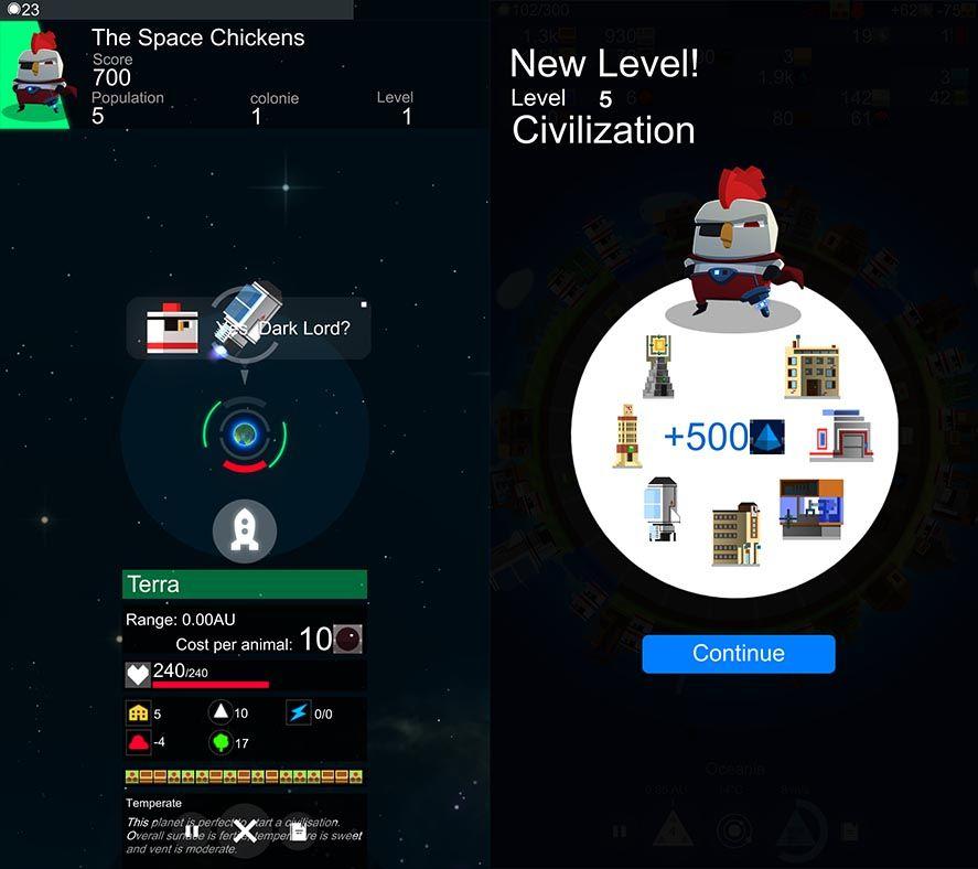 planet of mine screenshot 2 A Planet of Mine, el mejor juego de estrategia 4X para Android