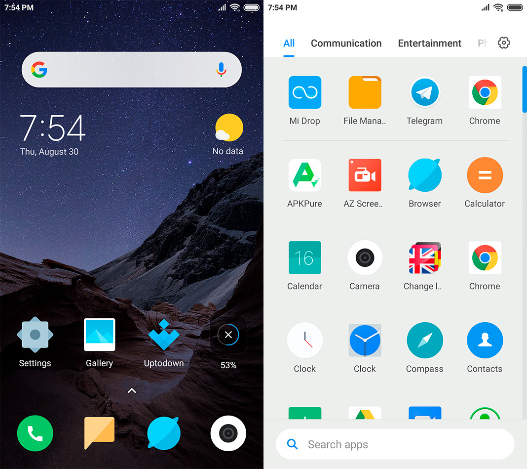 The PocoPhone F1 launcher is now available for more devices