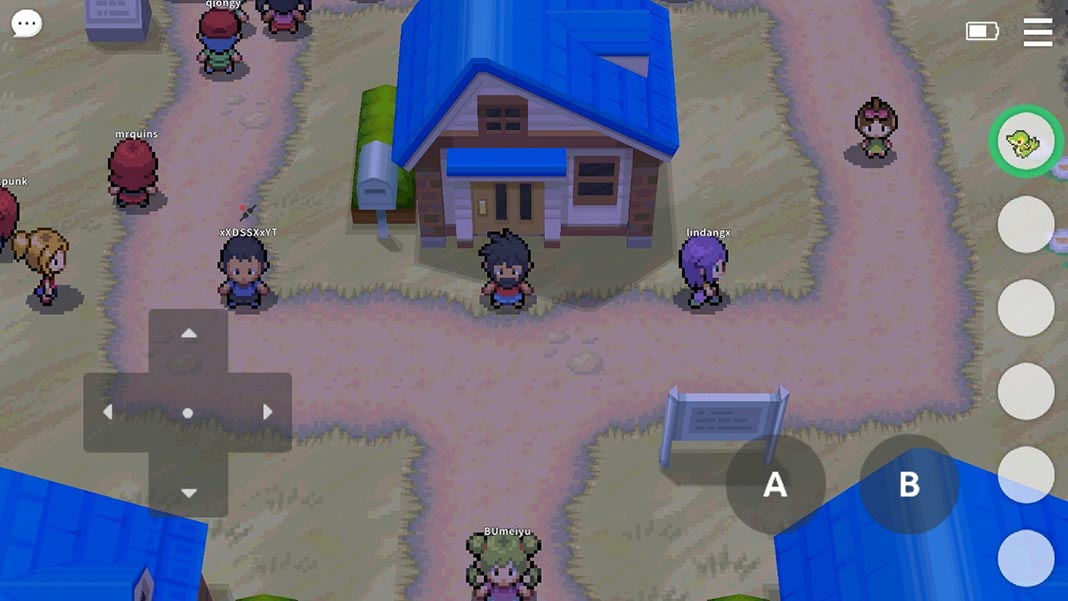 pokemmo screenshot 1 PokeMMO lets you play classic Pokémon games online on Android
