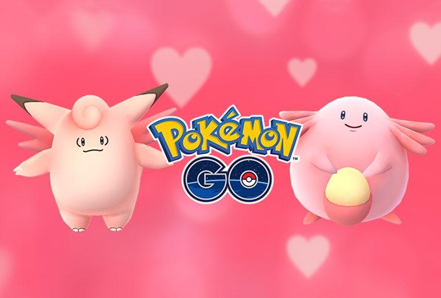 Pokémon GO San Valentín