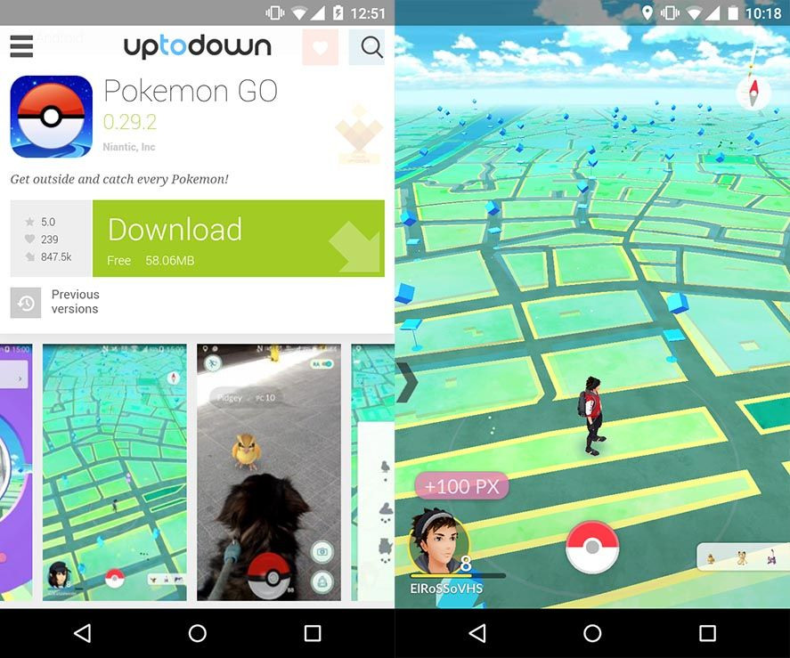 Download Pokemon GO on Uptodown