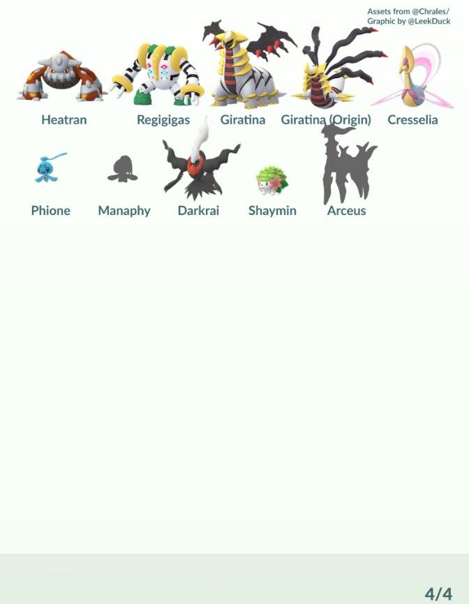 pokemon go sinnoh 4 La 4ª generación y el AR+ llega a Pokemon GO