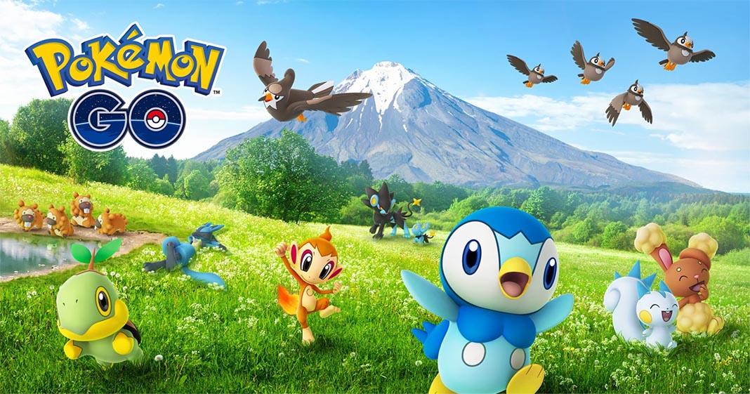 pokemon go sinnoh feat La 4ª generación y el AR+ llega a Pokemon GO