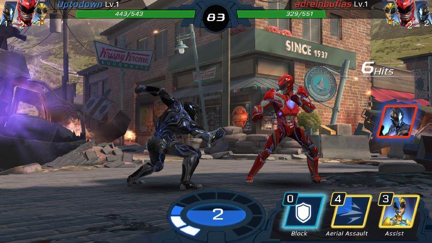 power rangers screenshot 3 Ya podemos metamorfosearnos con Power Rangers: Legacy Wars