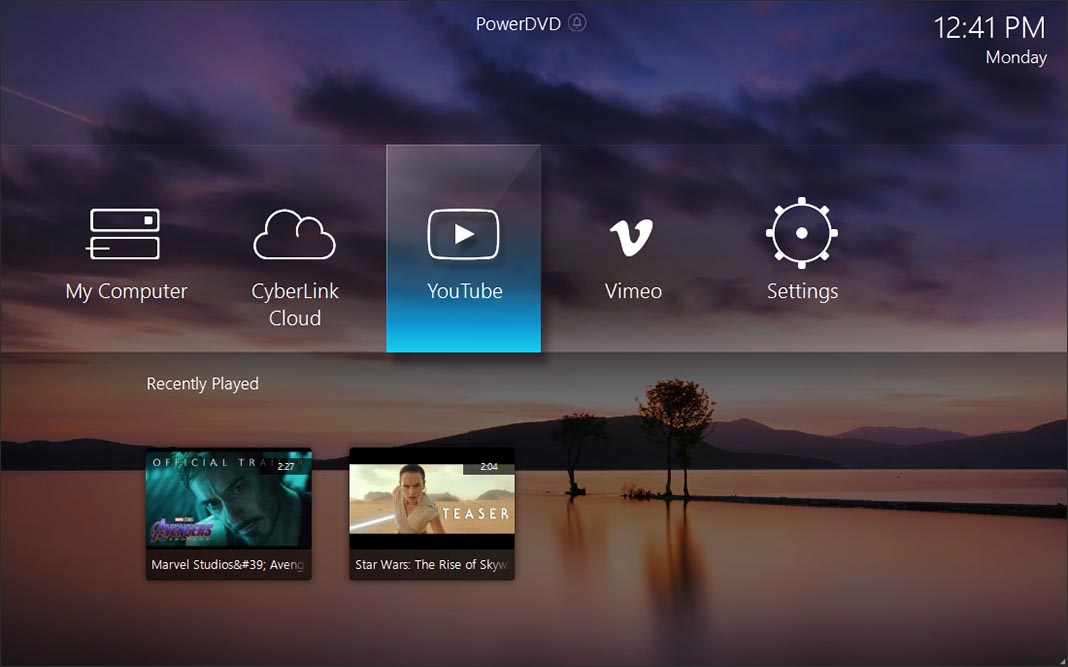 powerdvd 19 screenshot 1 Sorteamos tres licencias completas Ultra de PowerDVD19