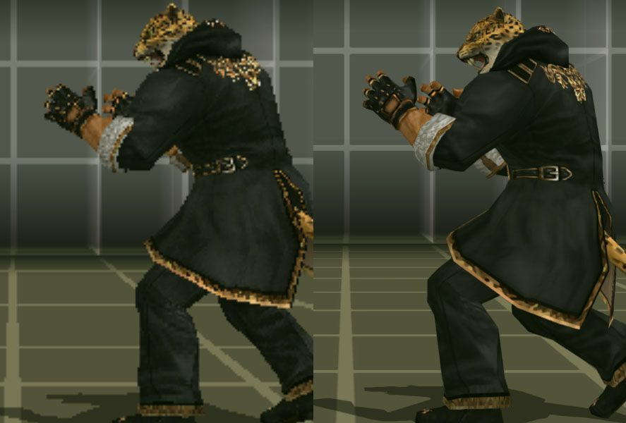 PPSSPP comparative Tekken