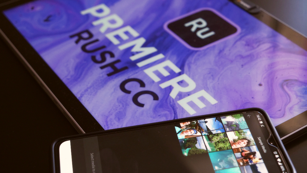 Adobe Premiere Rush, a professional video editor for Android