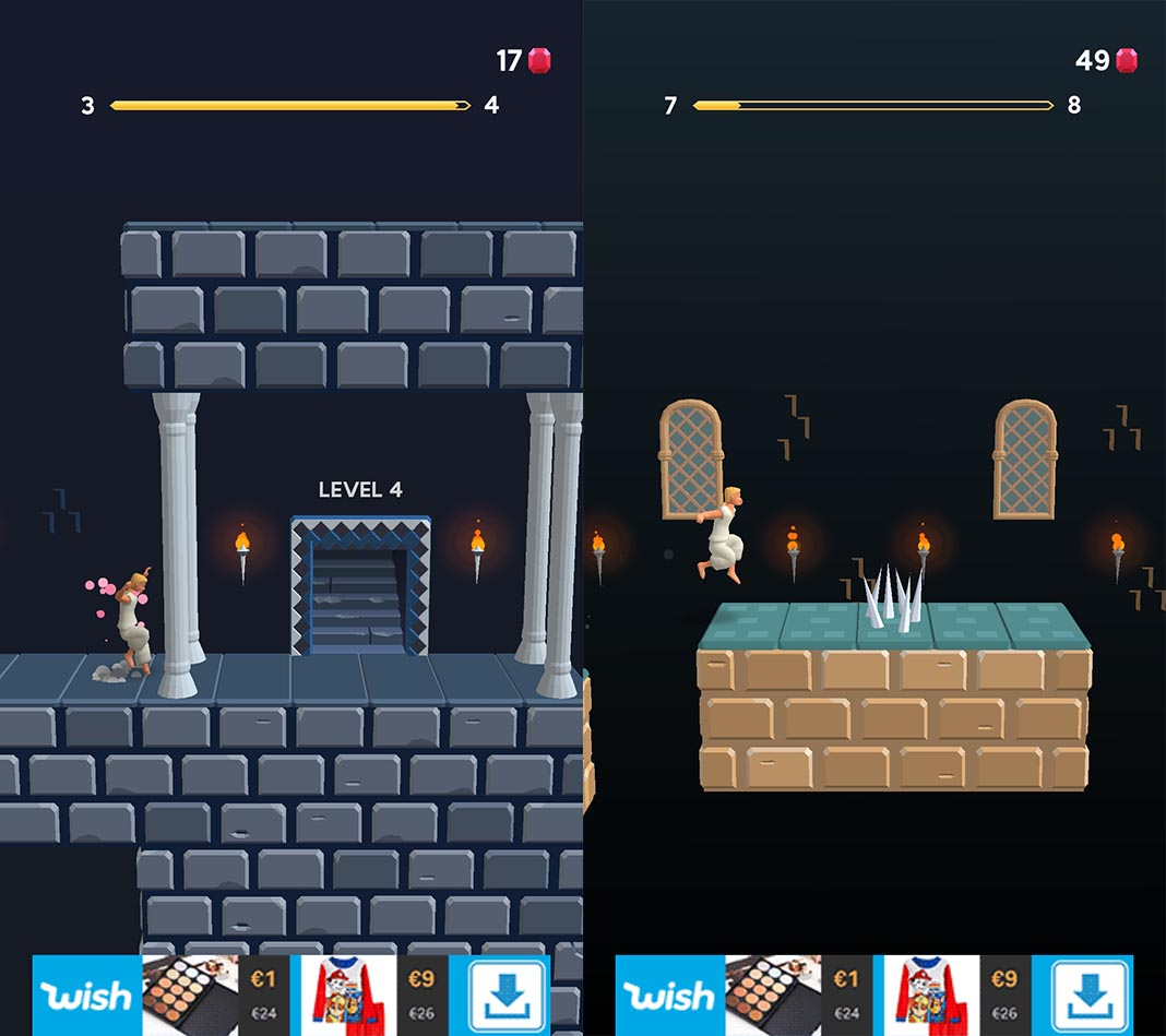 prince of persia escape 2 Prince of Persia Escape: Ketchapp transformed a classic into an endless runner