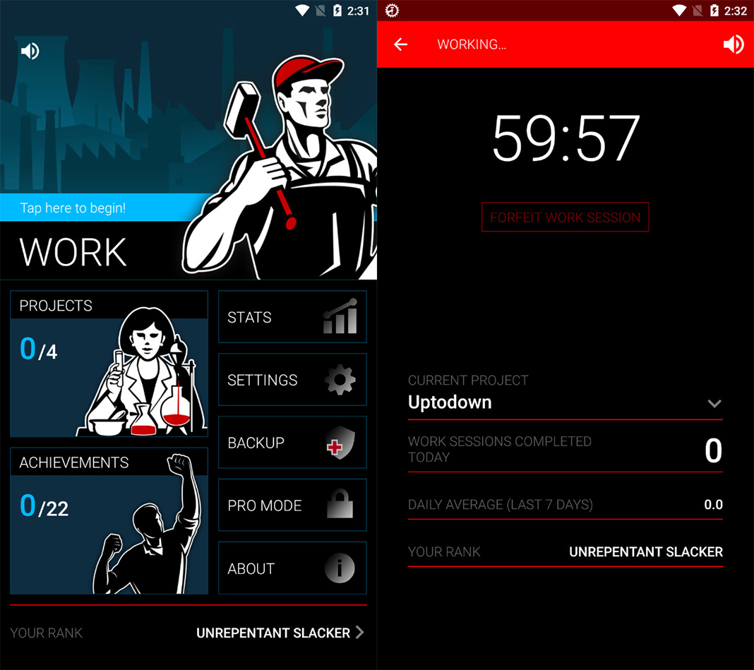 productivity screenshot 10 Android apps to help you overcome smartphone addiction