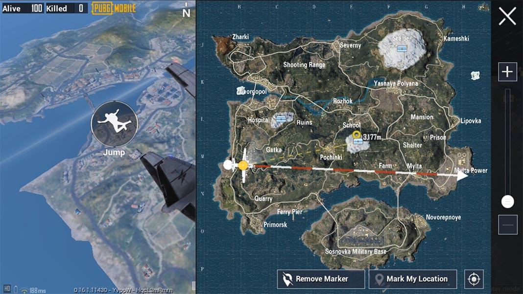 pubg mobile beta 016 screenshot 1 PUBG Mobile 0.16 Beta adds snow to Erangel and new game modes