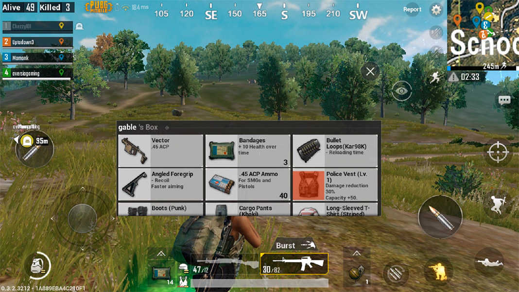 Thirteen tips to surviving as long as possible in PUBG Mobile