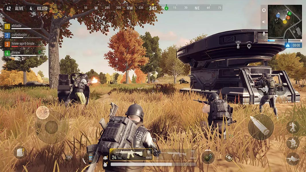 PUBG New State screenshot mejores battle royale Android