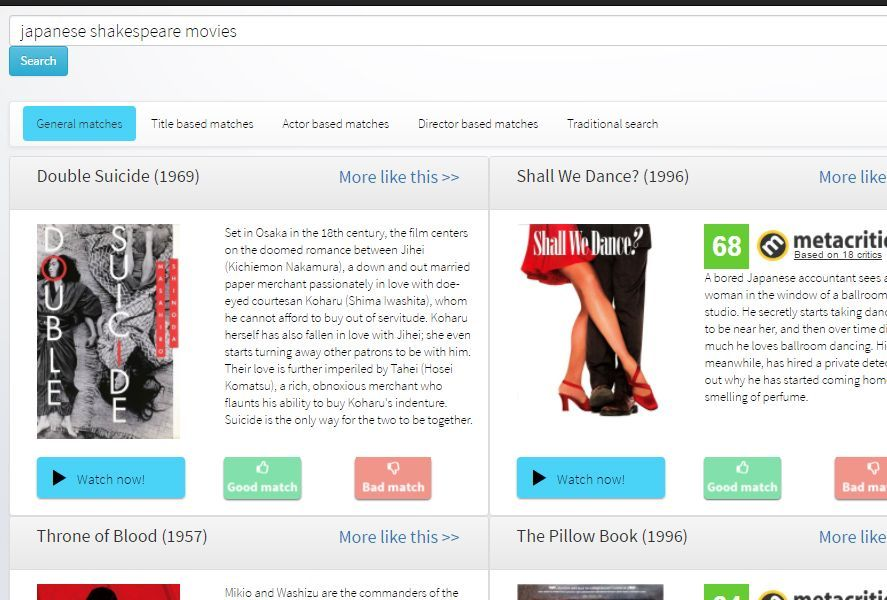 recomendaciones cine