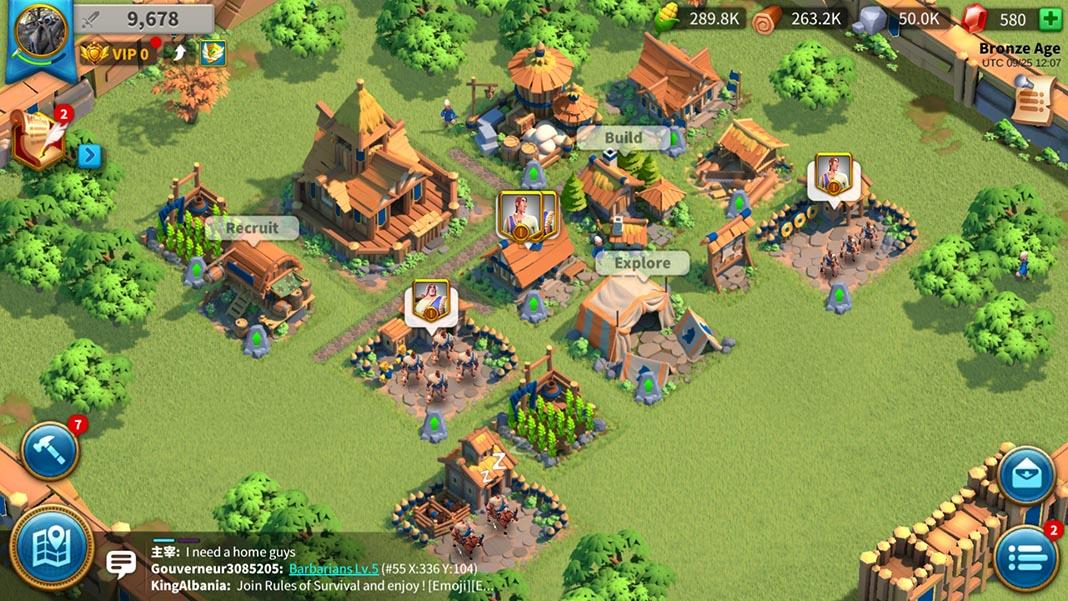 rise of civilizations screenshot 2 Rise of Civilizations llega de forma global a dispositivos Android