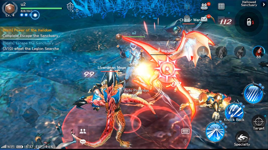 Royal Blood screenshot mejores MMORPG Android