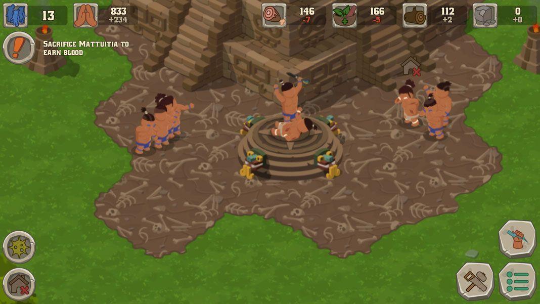 sacrifice screenshot 1 Sacrifices: sé un dios, dirige a tu pueblo y sacrifícalos para prosperar