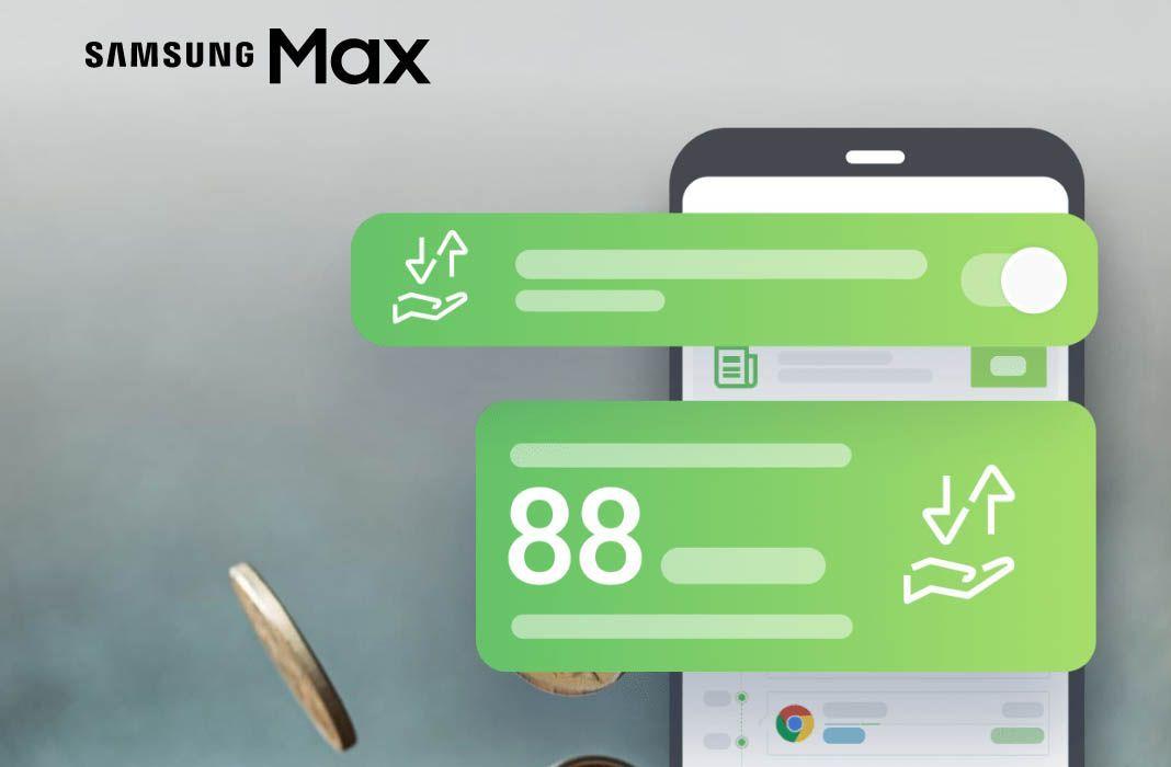 Samsung Max economizador