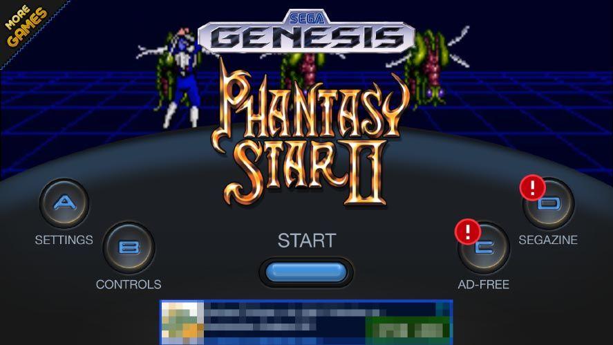 sega forever phantasy star SEGA publica varios juegos clásicos en Android de forma gratuita