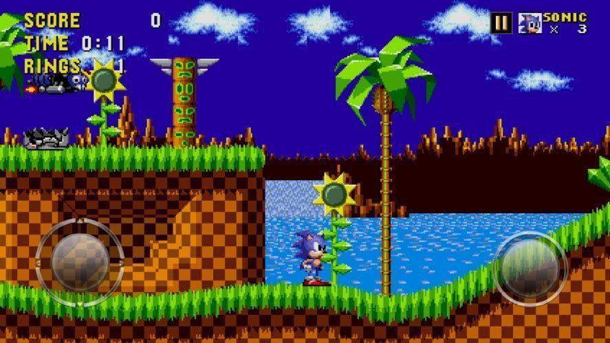 sega forever sonic SEGA publica varios juegos clásicos en Android de forma gratuita