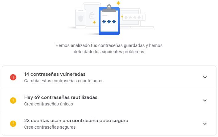 seguridad vulnerabilidad google Cómo comprobar si nuestras contraseñas han sido vulneradas