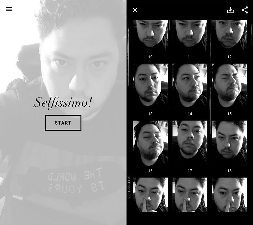 Google Selfissimo!