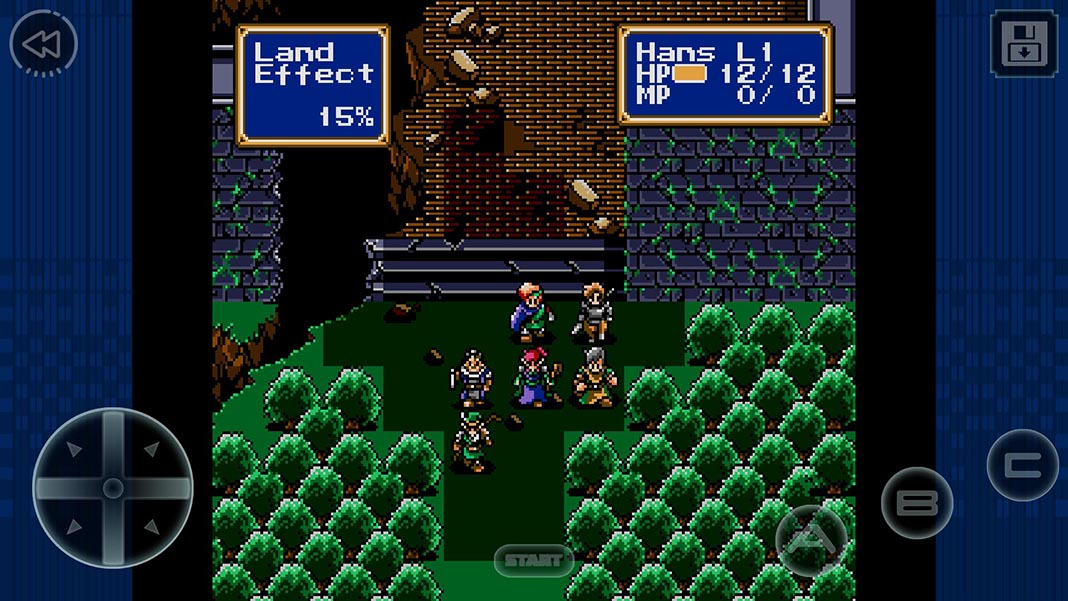 Shining Force 2 screenshot