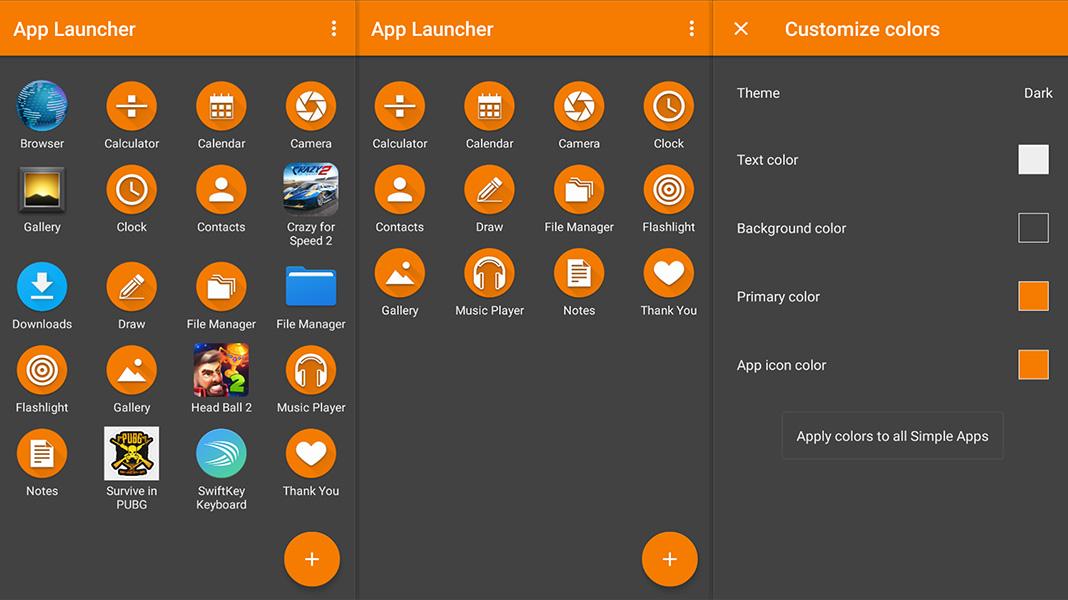 simple launcher Simplifica tu móvil Android con estas apps 'open source'