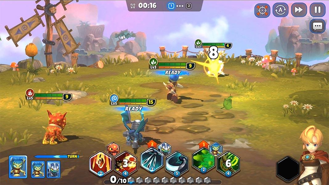 skylanders screenshot 1 Skylanders Ring of Heroes llega a dispositivos Android