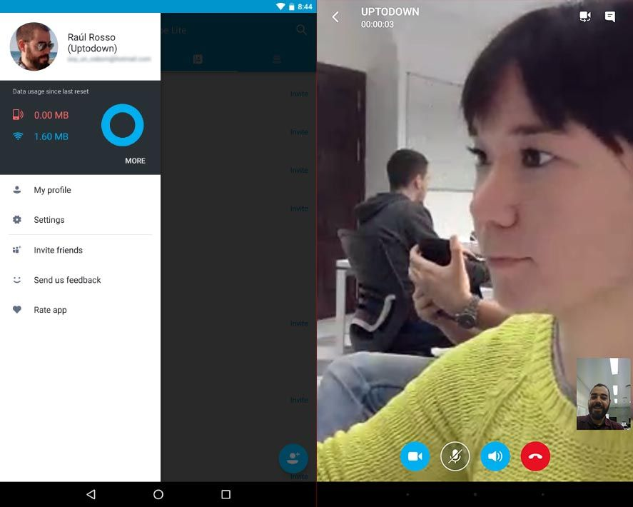 skype lite screenshot 1 Microsoft's top apps for Android