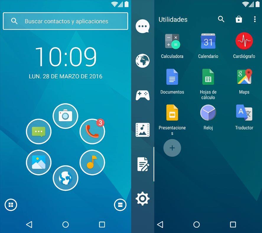 smart launcher 3 screenshot Las mejores apps Lite para ahorrar espacio en tu dispositivo Android
