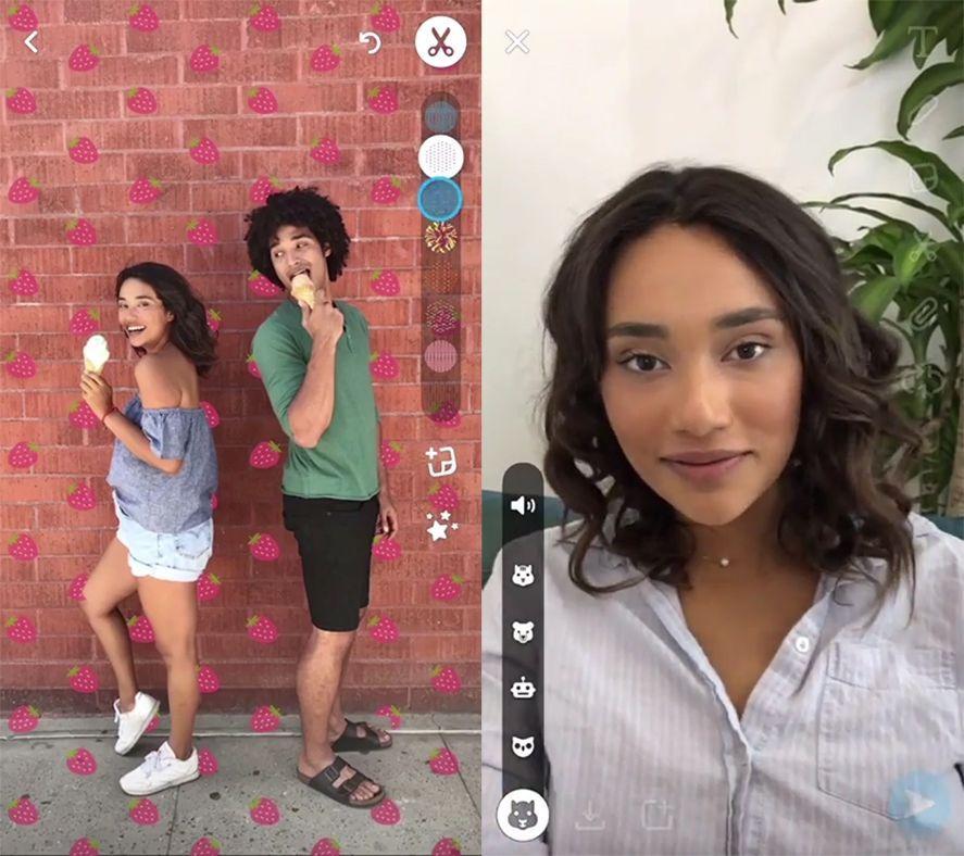 snapchat paperclip
