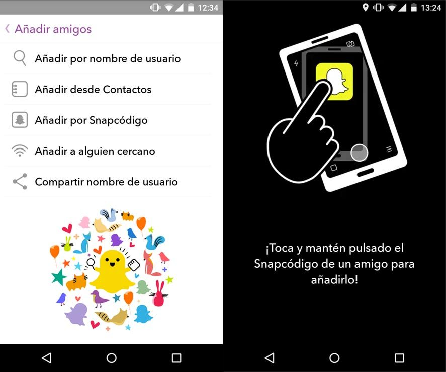 snapchat-uptodown-guia-3