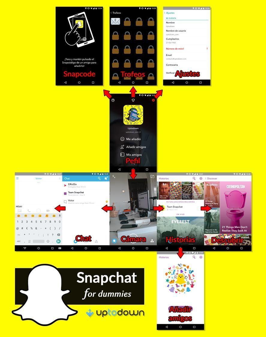 snapchat-uptodown-guia