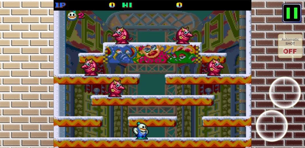 Snow bros para Android screenshot