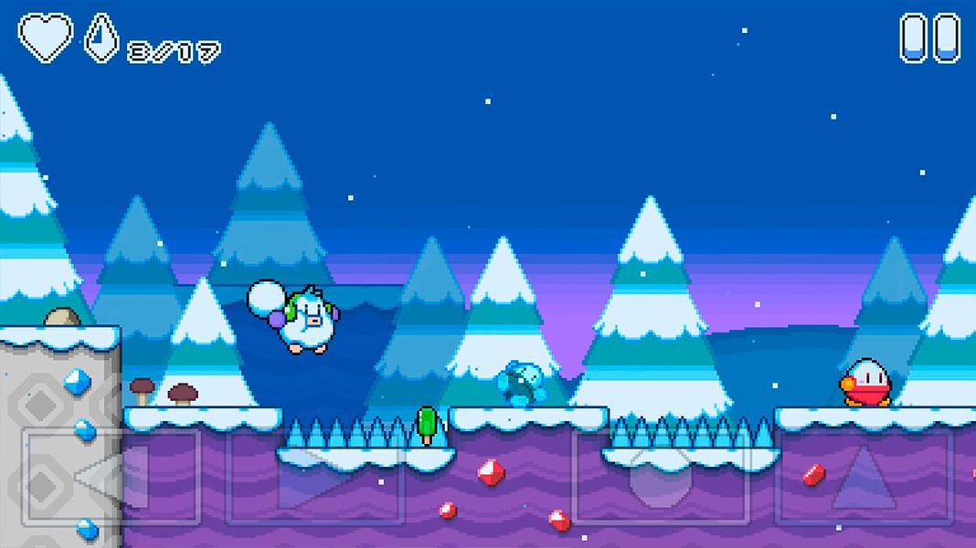 Snow Kids plataformas