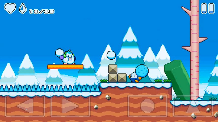 snow kids screenshot 3 30 free games for Android released in 2019 that don't require an Internet connection