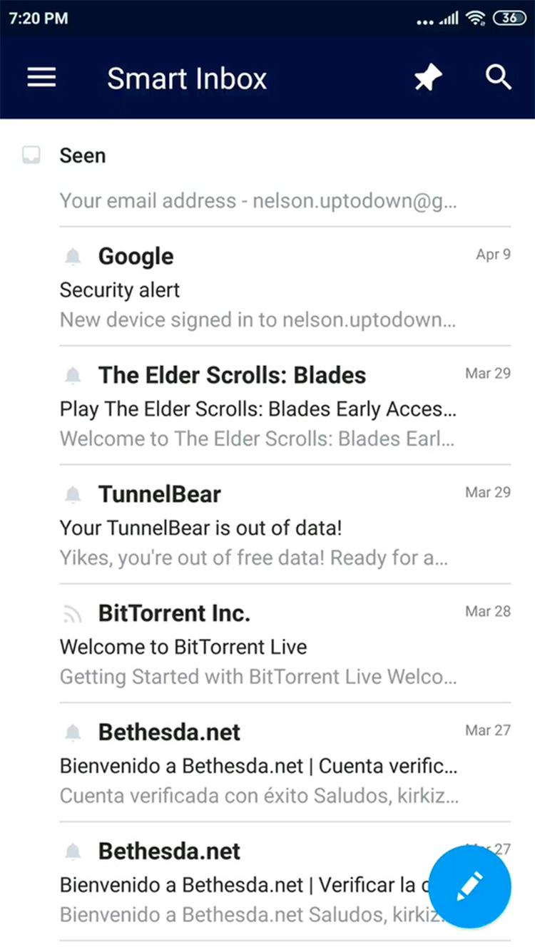 Spark e-mail