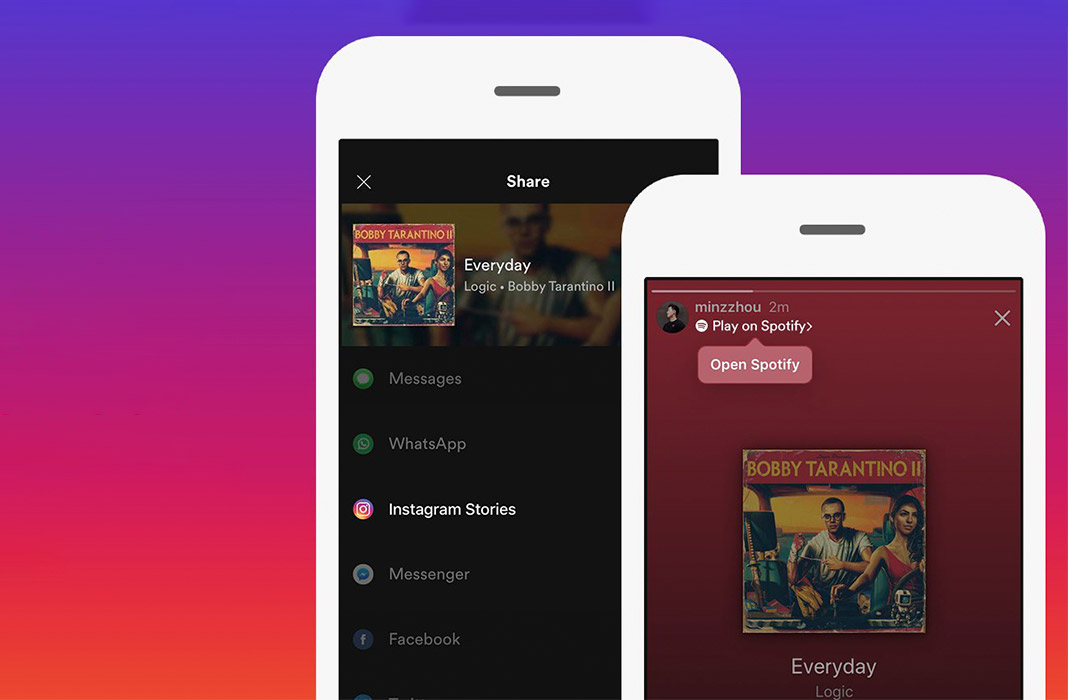 spotify instagram featured How to share Spotify music in Instagram Stories