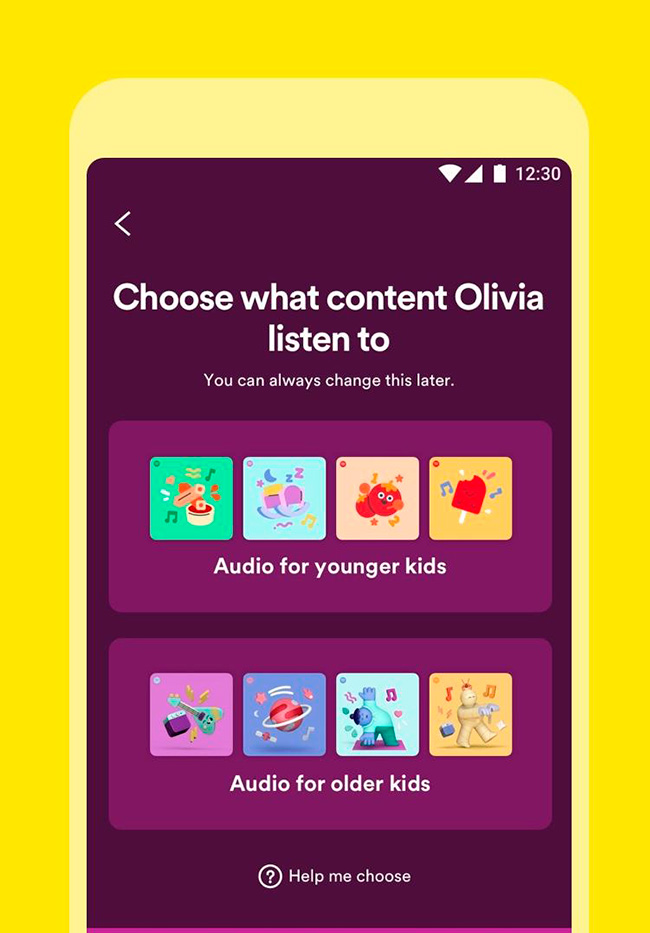 spotify kids 2 Spotify Kids is a new app exclusively for children