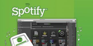 Imagen de las apps en Spotify