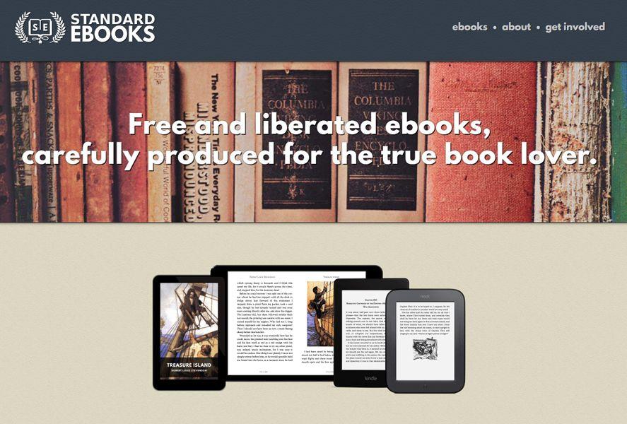 standard ebooks featured Descarga eBooks gratis y de forma legal con la mejor edición posible